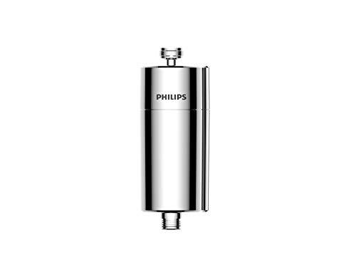 Phillips - AWP1775CH - Filtro de Agua para Ducha, Purificador, Elimina el Cloro Residual y Las impurezas, Duración 50.000 litros, Cromado