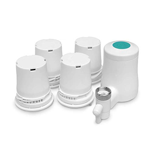 TAPP Water TAPP 2 Click - Pack Anual - Filtro de Agua para Grifo sostenible, con función Bluetooth (Filtra Cloro, Plomo, microplásticos etc.)