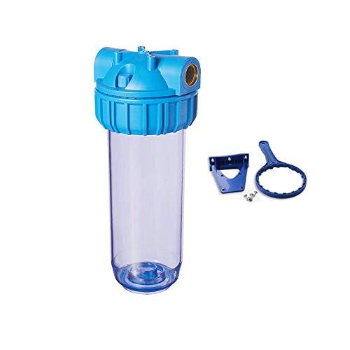 Filtros de agua Italia contenedor para cartuchos filtro agua 10 pulgadas casquillo 43894 pulgadas