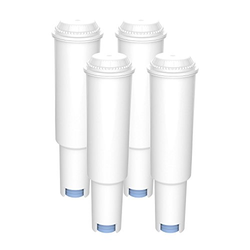 AquaCrest AQK-04 Reemplazo del Filtro de Agua para máquinas de café - Jura Claris White 60209, 68739, 62911 - Incluye Varios Modelos de Nespresso, Capresso, Impressa, Avantgarde (4)