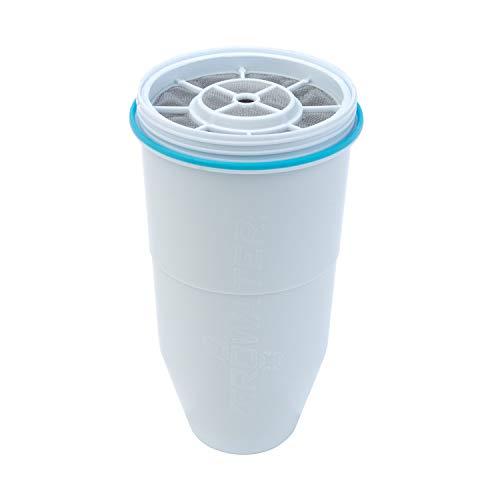 ZeroWater Cartuchos de Filtro de Agua de Repuesto (paquete de 1) Libre de BPA y certificados para Reducir el Plomo y Otros Metales Pesados