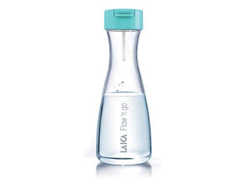 Laica Botella de filtrado instantáneo en Plástico y 4 filtros de carbono