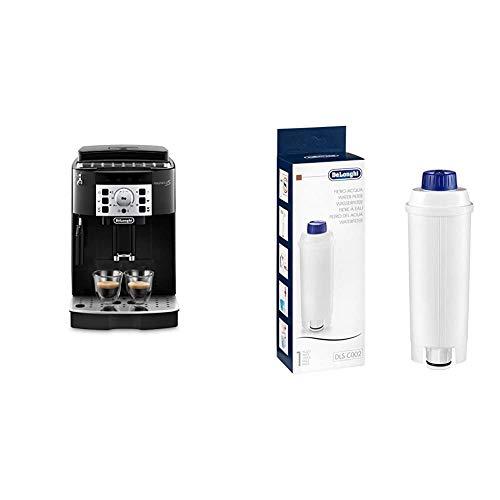 De'Longhi Magnifica S Ecam 22.110.B - Cafetera superautomática, 15 bares de presión, 13 programas ajustables, auto-limpieza + De'Longhi DLSC002 - Filtro agua antical, para cafeteras superautomáticas