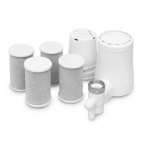 TAPP Water TAPP 2 Twist - Pack Anual - Filtro de Agua para Grifo sostenible (Filtra Cal, Cloro, Plomo, microplásticos) Filtro Cocina
