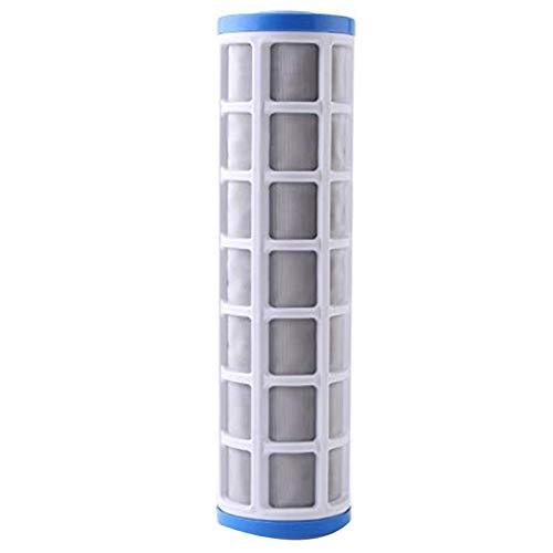 CUHAWUDBA Cartucho de Filtro de Malla de Alambre de Acero Inoxidable de 10 Pulgadas Purificador de Agua Prefiltro para PrevencióN de Incrustaciones