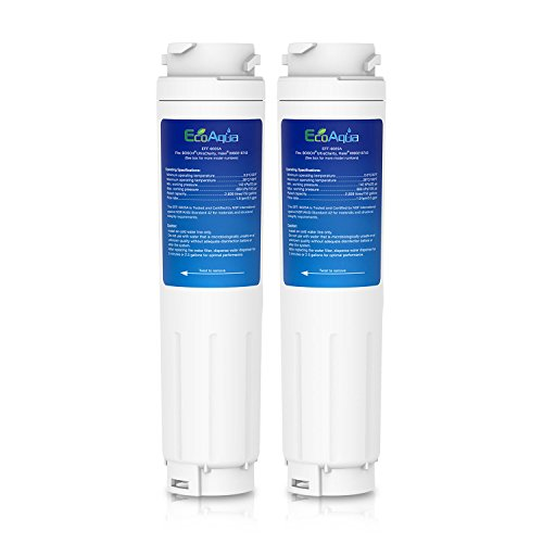EcoAqua 2x filtro de agua compatible con Bosch Ultra Clarity
