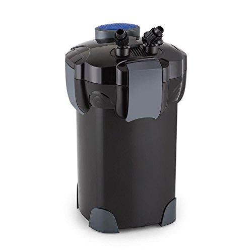 Waldbeck Clearflow 35 Filtro Exterior para Acuario - Motor de 35W, Filtro de 3 Niveles, Caudal de hasta 1400 l/h, para estanques de hasta 700L de Capacidad, Bajo Consumo, Fácil de Limpiar