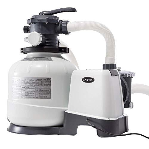 Intex 26648 - Depuradora arena Krystal Clear 10.500 litros/hora 14' 0.6HP