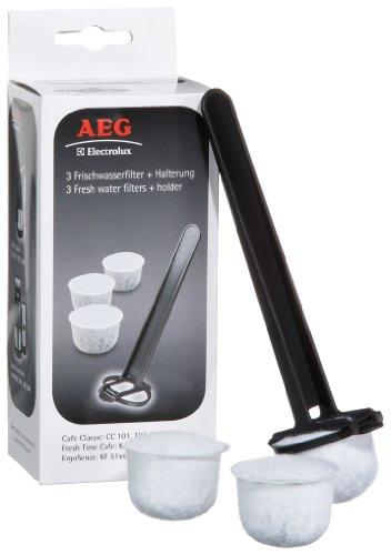 AEG FWF 02 - Filtros de agua con soporte para cafeteras eléctricas AEG Electrolux