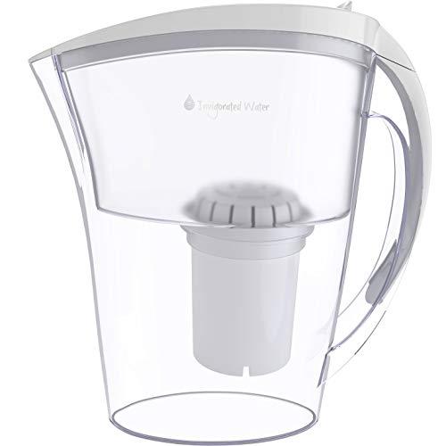 pH REFRESH - Jarra ionizadora con filtro de agua alcalina - Incluye 1 filtros - Blanco - 2,5 l