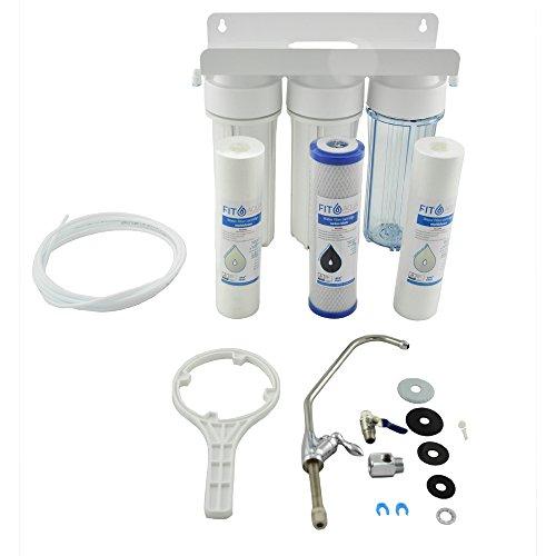 FIT Aqua AWF de UPS de 3H häusliche Tres etapas Agua Juego de filtros