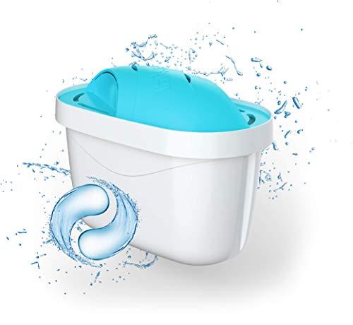 Wessper® AQUAMAX Alkaline Cartuchos de filtrado de Agua, Compatible con BRITA Maxtra, PearlCo, FilterLogic, AmazonBasics - 10 Unidades