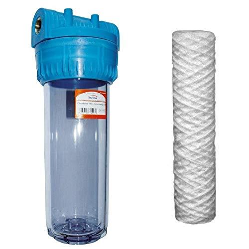 3/4 kit'bsp sistema de filtro purificador de agua para toda la casa con el filtro de sedimentos incluido
