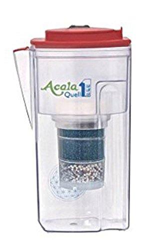 Filtro de agua AcalaQuell® One | frambuesa | Filtro de agua de carbón activo, alta potencia de filtro, varias capas, sin BPA ni BPB, tecnología ReNaWa®, crea agua deliciosa y reconfortante