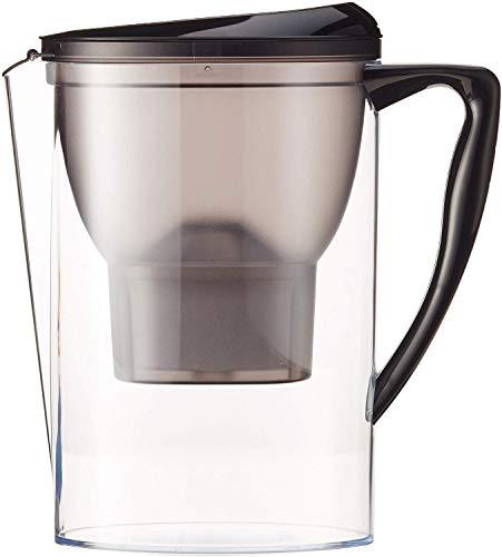 Amazon Basics – Jarra de filtrado de agua (2,3 L) - Negro