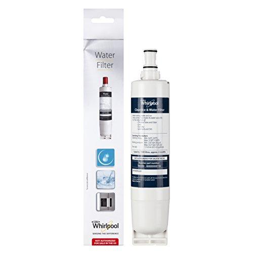Whirlpool SBS200 - Cartucho de filtros de agua para frigoríficos Side by Side