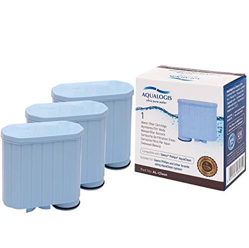 Aqualogis Al-Clean - Filtro de cal y agua para cafeteras automáticas Saeco y Philips Saeco CA6903/01 AquaClean