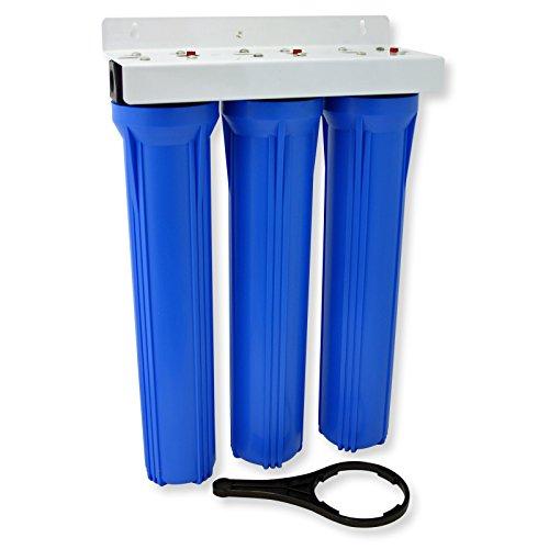 NW-BRK03 Filtro de agua 3-etapas cartucho de sedimentos 5µ 20' 508mm Filtración agua Ablandar agua