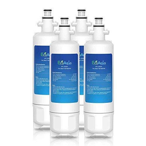Agua EcoAqua eff-6032d hielo y filtro de frigorífico para LG lfx25976sw, lfx25978, lfx25978sb, lfx25978st, lfx28968sw, lfx28978sw, lfx28979sb, lfx31925sb, lfx31925st, lfx31925sw (4)