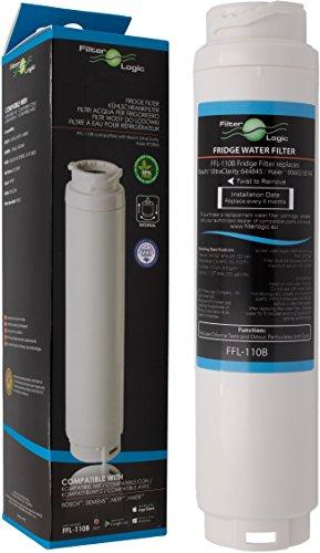 FilterLogic FFL-110B Filtro de agua compatible con 3M UltraClarity 00740560 , 740560 / 644845 para BALAY , BOSCH , SIEMENS , NEFF , MIELE , HAIER frigorífico - Ultra Clarity 9000733786 VIB-Z4500W0