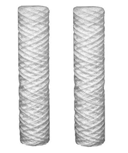 2 x sedimentos 5 micras cartuchos de filtro de agua cabe todos 10'ósmosis inversa
