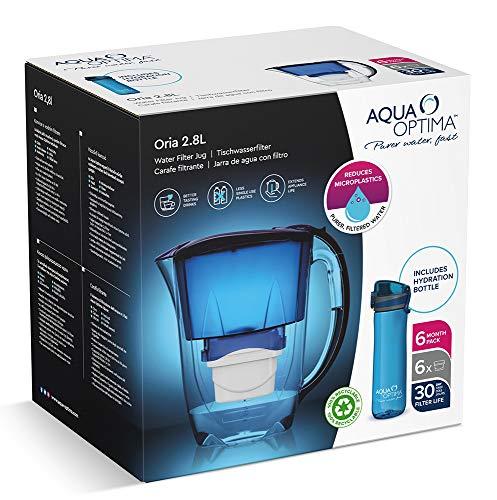 Aqua Optima Jarra de Filtro de Agua, Azul, talla única (PJ0550)