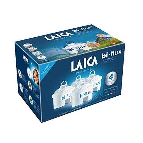 Laica 4 filtros bi-Flux Blanco