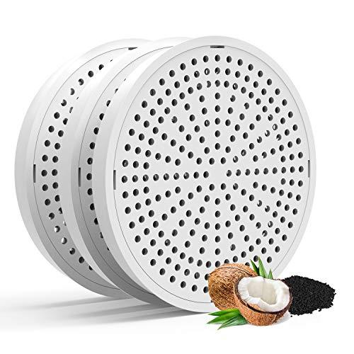 HoneyGuaridan Filtros de carbón de Repuesto para Fuente de Agua para Mascotas W18 / W25 / W25 Pro - Paquete de 3