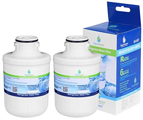 2x AH-HOT Filtro de agua para Thomson THSBS90WDWH / Hotpoint SXBD922FWD / Caple CAFF205 / Indesit C00300448 / Ariston/Electrolux - Compatible
