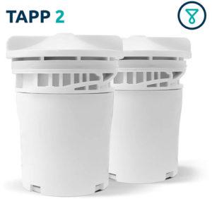 Juego de 2 cartuchos de recambio para filtro TAPP 2