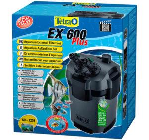 Filtro Exterior para Acuario Tetra EX 600 Plus Set completo