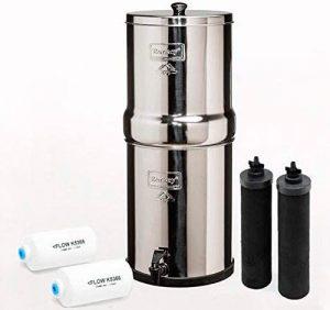 Berkey BK4X2-BB Sistema de filtración de agua