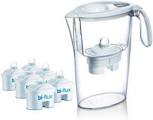 Pack de 6 filtros Laica bi-flux + 1 jarra de regalo